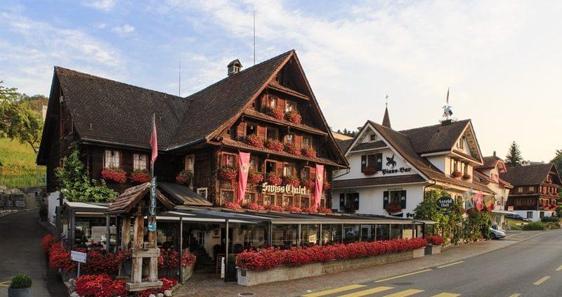 Swiss Chalet Merlischachen Aussenfoto