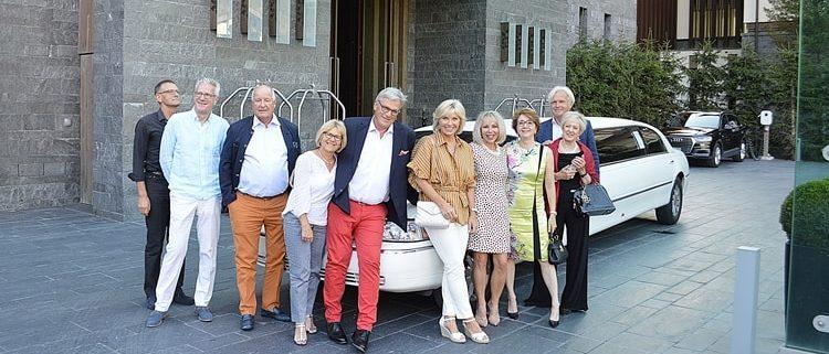 Limousinen Ausflug mit Freunden nach Andermatt