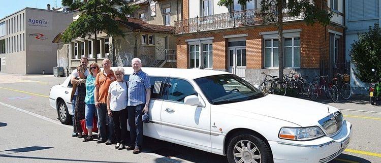 Müller Limousine Ausflug nach SH