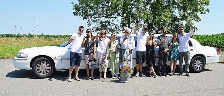 Toller Familien Ausflug mit Krystal Limousine