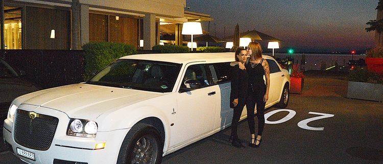 Geburtstag mit Chrysler Limo in Lachen SZ