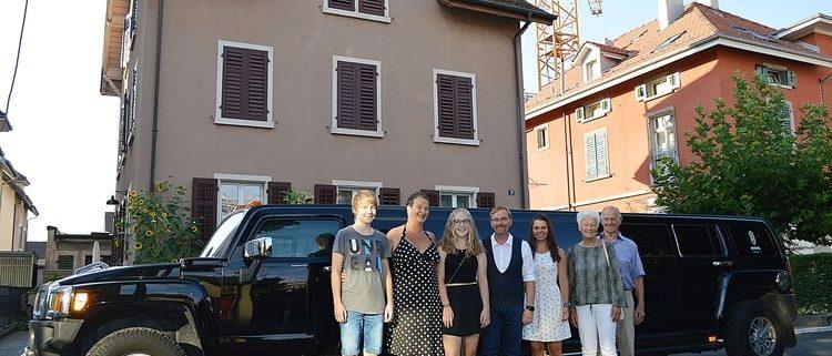 Hummer Stretchlimousine für Winona in Zürich