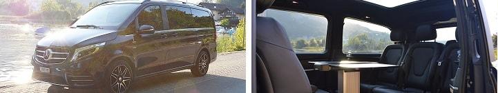 Limousine Mercedes VIp VAN V Klasse