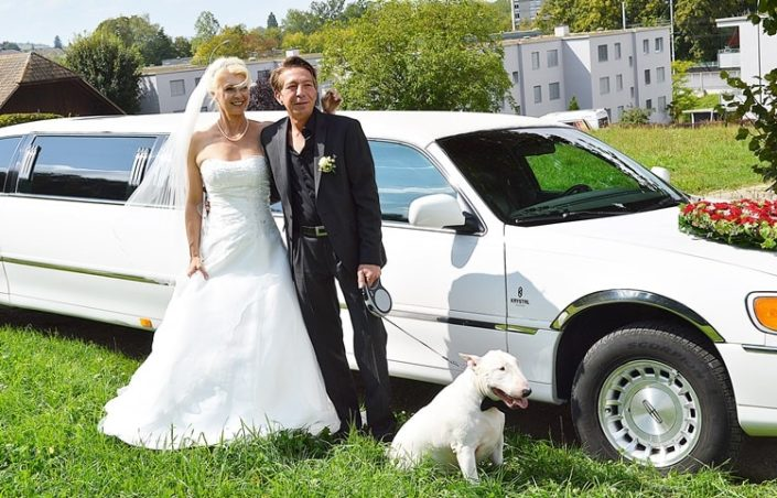 Hochzeitslimo von Barbara und Jürg in BE