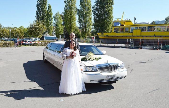 Hochzeit Limousine von Alex und Veronica
