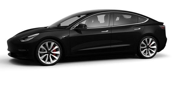 Tesla Model 3 Limousine Chauffeur mieten
