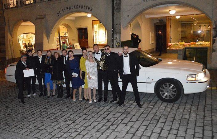 Hochzeitslimousine in Bern für Kate