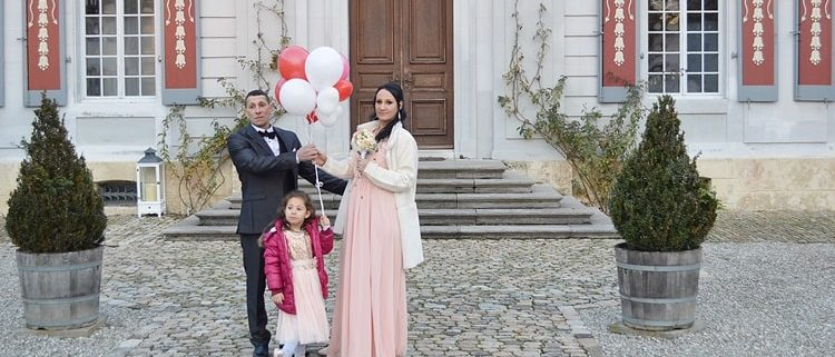 Hochzeitslimousine von Farid und Joelle