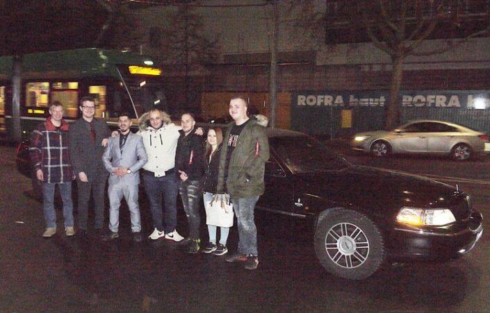 Pierandreas Limousinen Geburtstagsfahrt