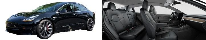 Business Limousine Tesla Model3 Performance