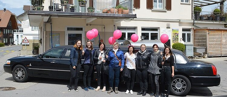 Andreas Polterlimo Tour in Luzern Krystal