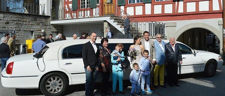 Hochzeit Limousine in ZH Sehr zufrieden (Brigitte) April 2019