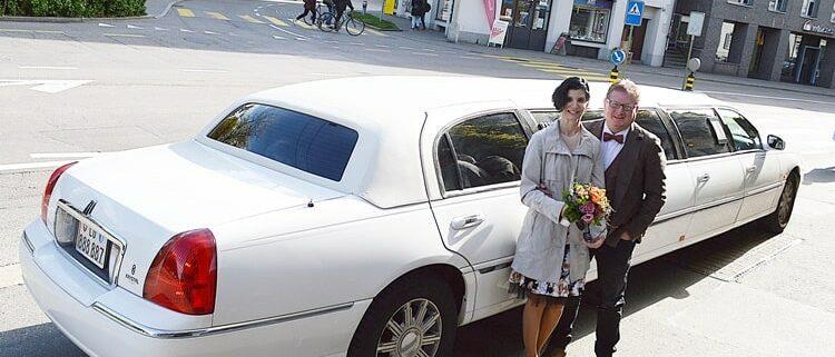 Hochzeit Limousine von Bengt und Mirjam