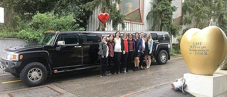 Tanjas Limousinen von Krystal