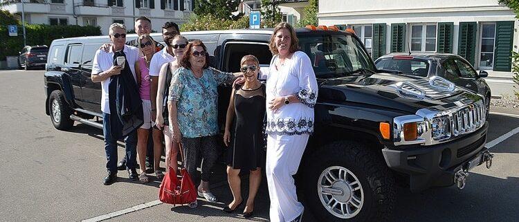 Esthers Hummer Limousine zum 40 Geburtstag
