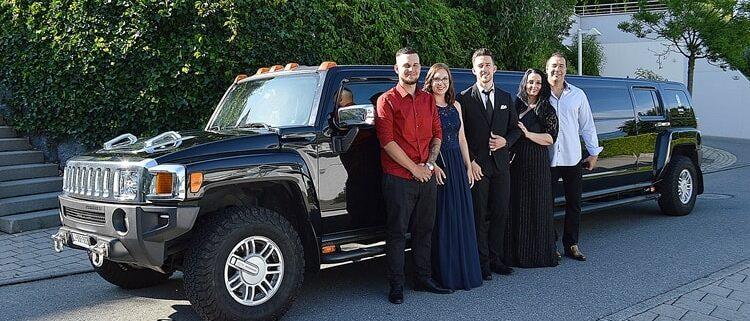 Brankos Geburtstags Hummer Limousine