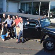 Teamausflug mit Hummer nach Krienseregg