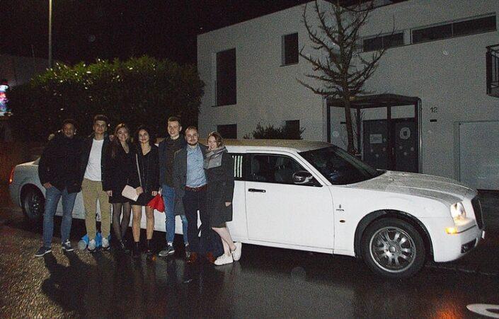 Enyas Chrysler Limousine nach Zürich
