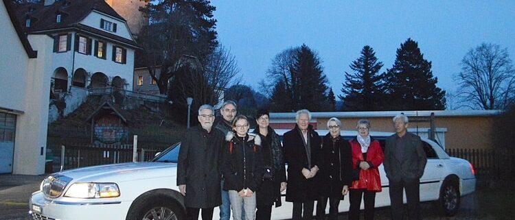 75 Geburtstag mit Krystal Limousine
