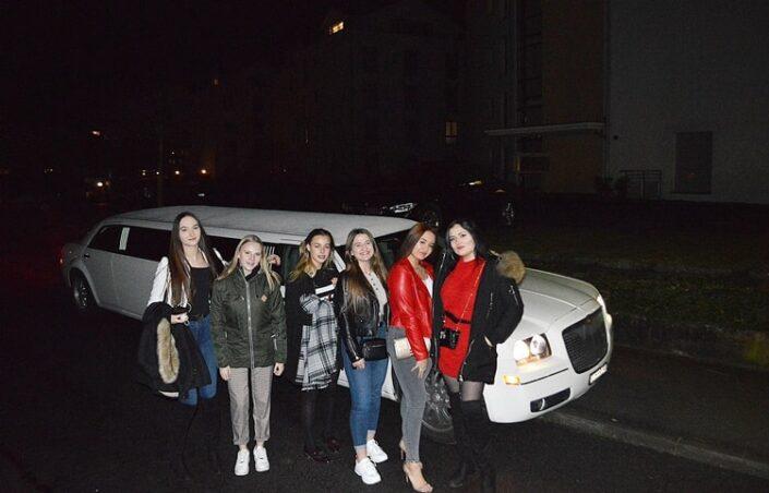 Ginas Geburtstagslimo nach Luzern