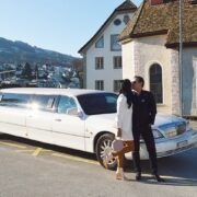 Wir haben die Limousine alle sehr genossen