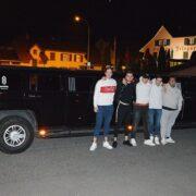 Hummer Limousine für David