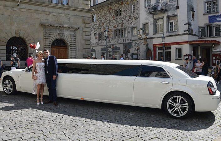 Hochzeit Limo Luzern M & P