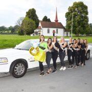 Polterabend Limo für Artemis nach Basel(Jeanine) Juni 2020