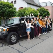 Jeannines Poltertag mit Stretchlimo