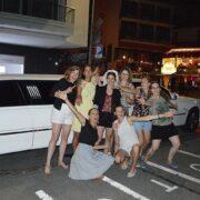 Andreas Polterabend Limousine hat allen gefallen