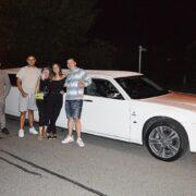 Halimas Geburtstag Chrysler Stretchlimousine
