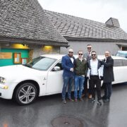 Chrysler Limo in Bad Ragaz war super