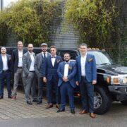 Hummer Limo Team Ausflug nach Bern