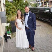 Manu und Danis HUMMER Stretchlimo Hochzeit