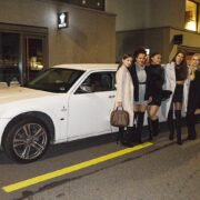 Halime und Lauras Geburtstag Limousine