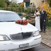 Patriks Hochzeit mit Krystal Limousine