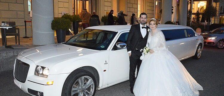 Rainer und Monikas Hochzeitslimo machte grossen Spass