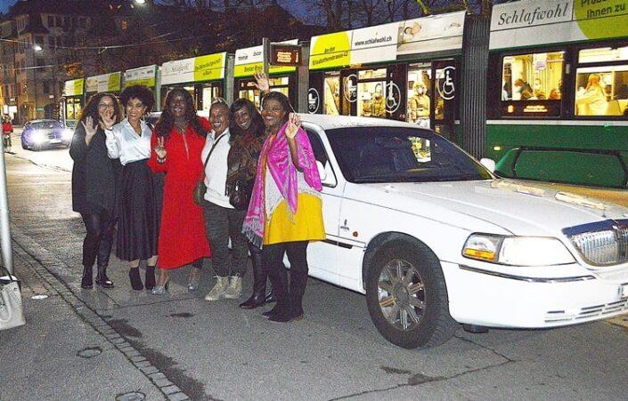 Aurelies Limousine Fahrt freundlich und professionell