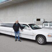 Fritz Pensionierung Limousinen Fahrt