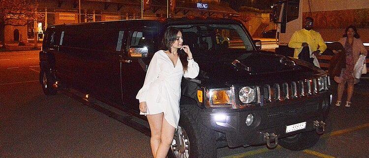 Rashee Geburtstag Hummer Limousine