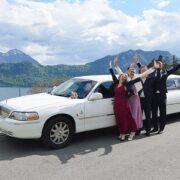 Hochzeit Limousine von Philipp und Tina