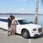 Morris und Nadine Hochzeit Limousine