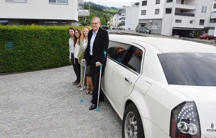 Gerties Limousine zum Geburtstag