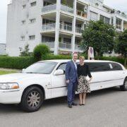 Irene & Domenicos Hochzeitstag mit der Limousine