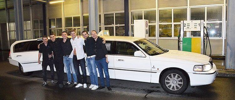 Stockis Polter Limousine war ein cooles Erlebnis