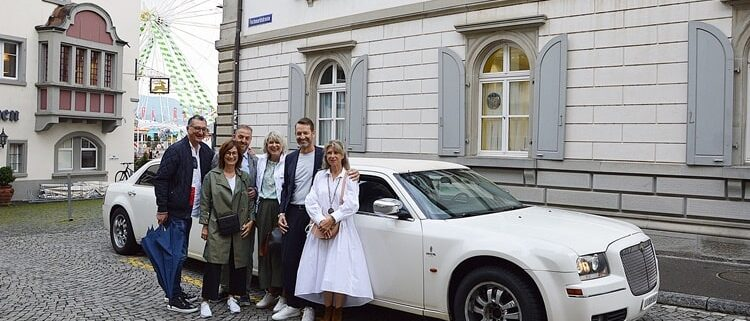 Super Limo Service nach Rapperswil