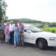50 Hochzeitstags Limousine für Roger und Ursula