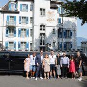 Gabrielas Geburtstag Limousine nach Luzern