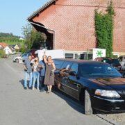 Ricos Geburtstag Limousine in schwarz