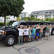 Thiagos Hummer Limo Fahrt